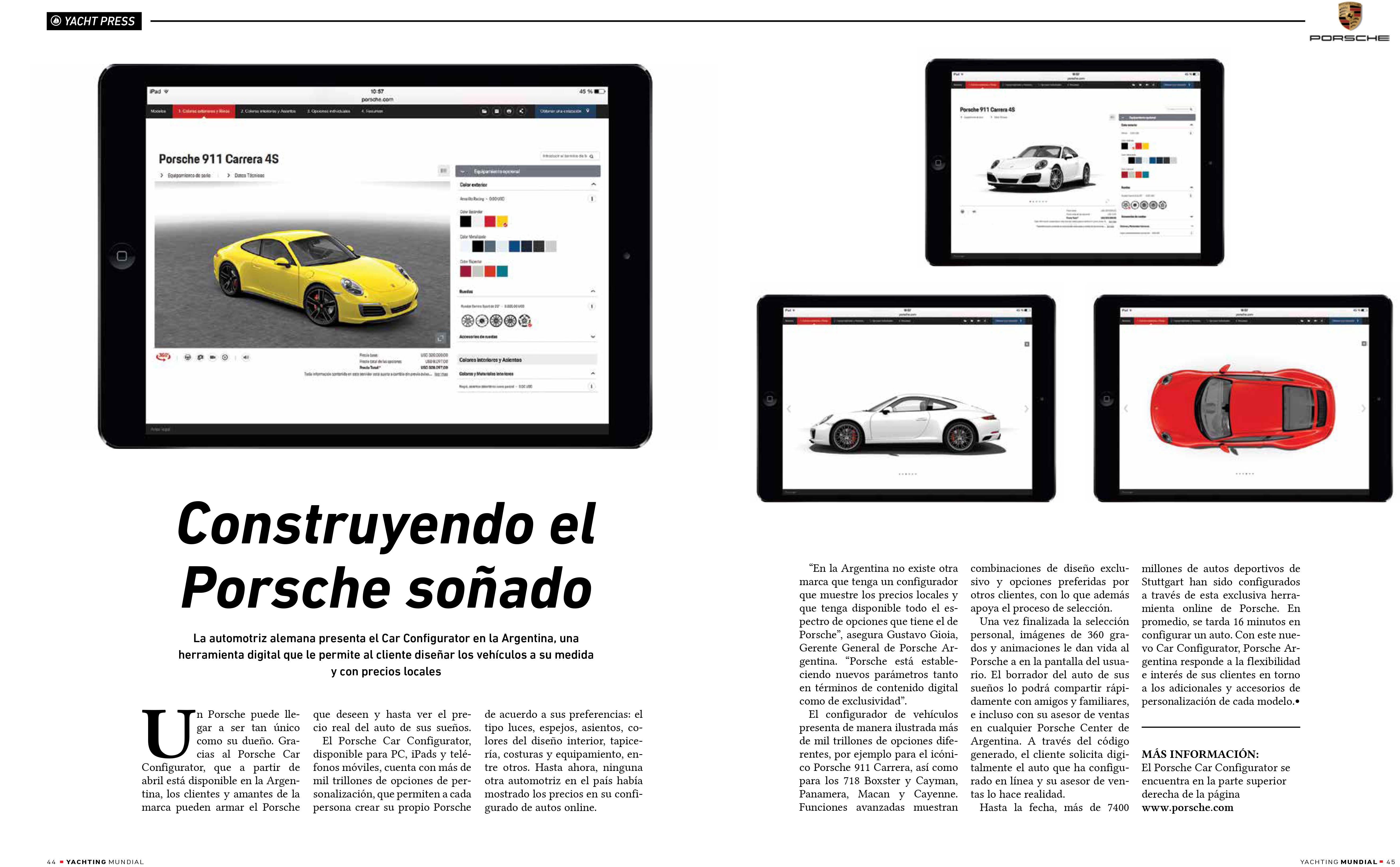 Publinota Porsche